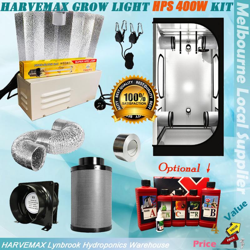 Tuin en terras 1.2x1.2m Complete Digital Light Kit 600w